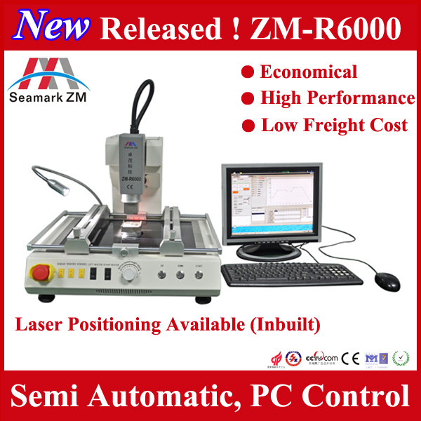 New model small one auto bga rework station zm-r6000 smd soldering machine