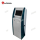 China touch screen kiosk with note acceptor and card issuing bill payment kiosk