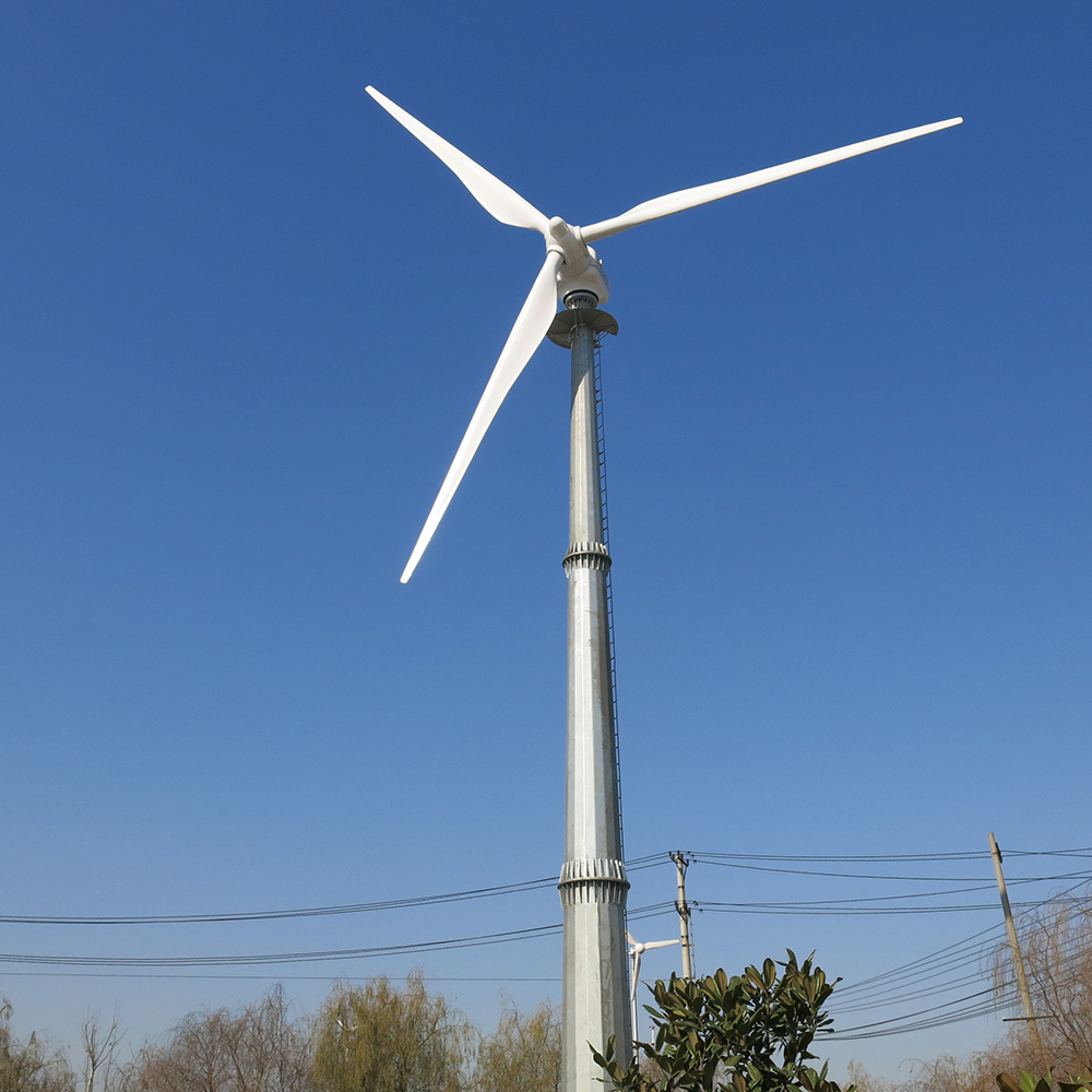 Free energy wind power generator 100kw wind turbine
