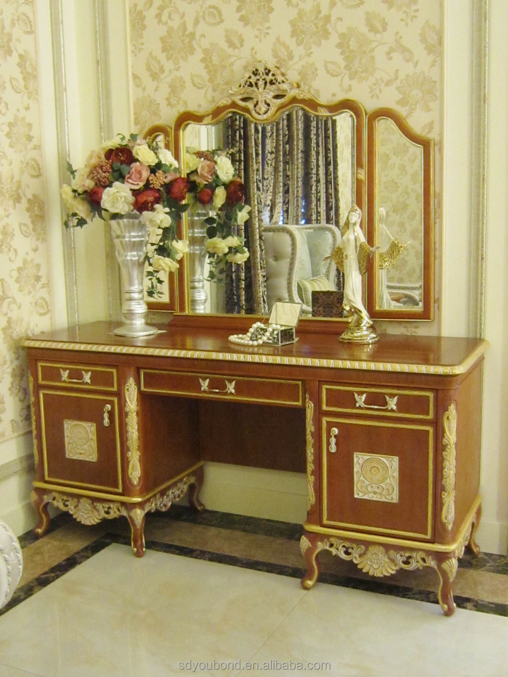 0050 american style home furniture dubai luxury hand made bedroom set furniture buy bedroom Marlin home furniture dubai