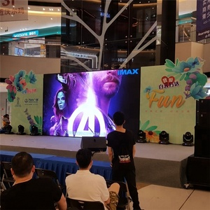 Advertising HD photos LED display/ 3 in 1 full color p6 LED display video Panel