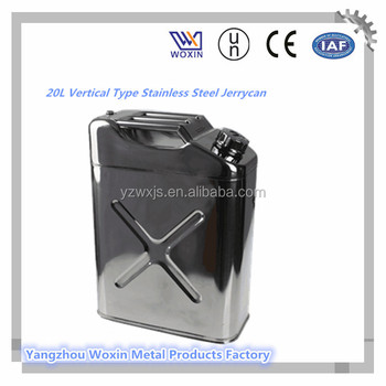 20L in acciaio inox Jerry can