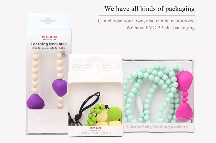 China Manufacturer Bpa Free Food Grade Silicone Beads Jewelry Baby ...