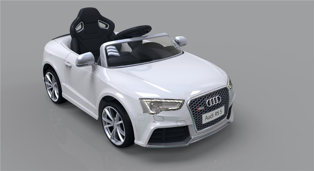 Audi Power Wheel With Foamed Pu Wheels & Led Lights