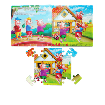 2016 Best Seller Eco-friendly Children Activity Books with Jigsaw Kids Fairy Story Reading Scripts with Good Service Wholesale