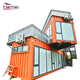 Folding container house container office data entry work home