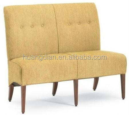 chinese modern plain restaurant dining booth sofa bench for sale