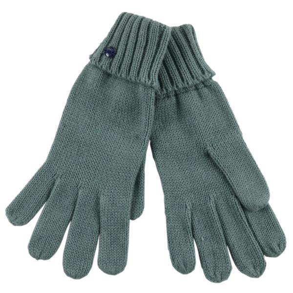 Custom DAMES Vinger Gebreide Winter Warm Handschoen met metel trim