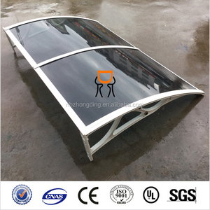 polycarbonate shed window or door awning canopy solid shelter