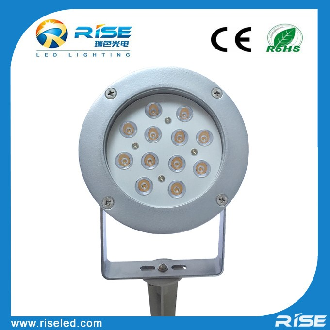 Solid Low Voltage 12v 3w 6w 9w 12w Rgb Spike Light Outdoor Garden ...