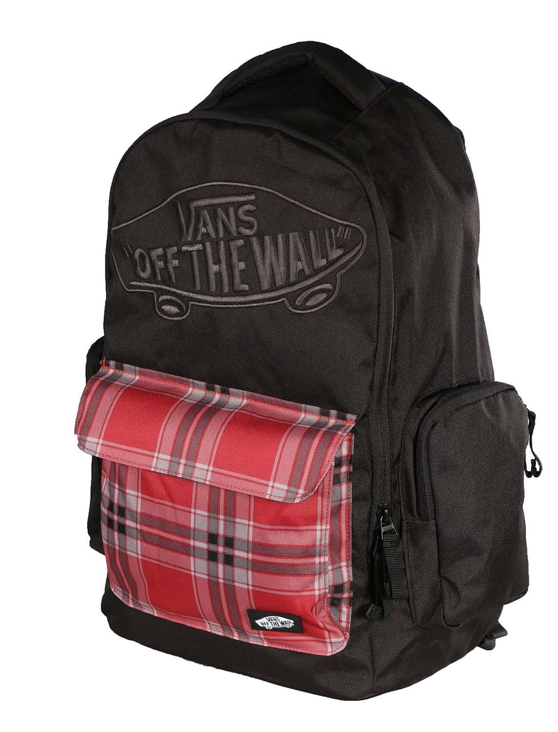 784e5f91bb Get Quotations · Vans Off The Wall Underhill 2 Backpack-Black Red