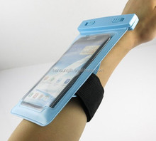 waterproof arms and hands cell phone pouch for men