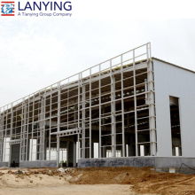 Steel structure building multi-storey warehouse/prefabricated building/cheap prefab building