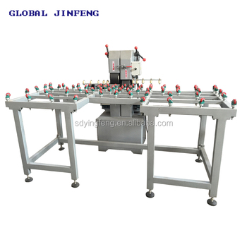 JF-SMS1910 CNC wet Glass belt sander glass sanding machine good price