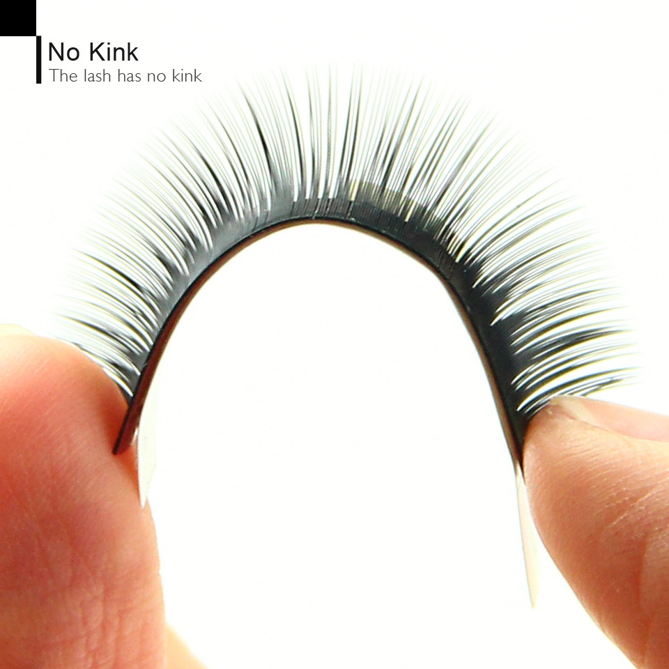 0.07 0.05 Korea synthetic silk private label mink eyelashes