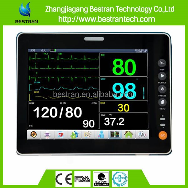 BT-PM6B CE ISO approved hospital electric portable neonatal blood pressure monitor