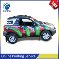 Christmas Full Color Wide Format Digital Printing