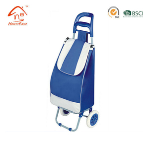 Colorful easy folding shopping Folding Shopping Trolley