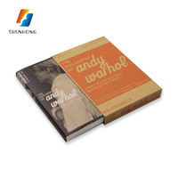 Fabric hard cover book,custom cheap hardcover book printing