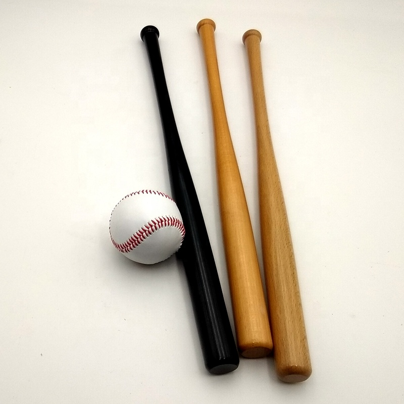 Baseball softball sport versorgung holz baseball bat mini dekorative fledermäuse