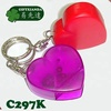 Plastic Heart shaped CD opener, CD jewel case opener, CD slitter, Thin film wrapping package Opener -with stainless steel blade