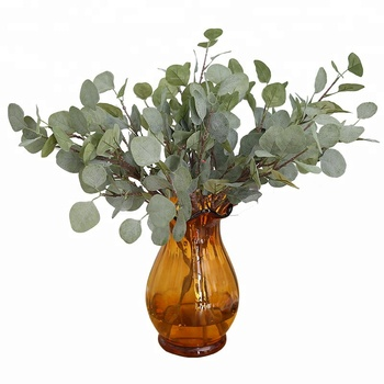 Factory flower wholesale flower arrangement indoor plant green leaves eucalyptus leaves
