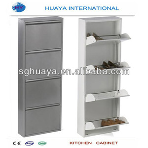 stainless steel metal shoe cabinet