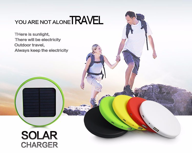 5000Mah Solar Window Charger for Phone and Tablet