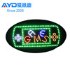 Hot Cake Indoor Advertising LED Open Sign Sweepstakes Games Program LED Display LED Gas Price Sign