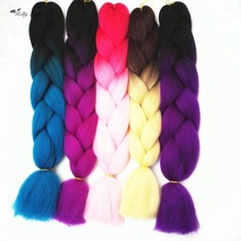 China supplier 100g 24inch jumbo braiding hair ombre jumbo braid