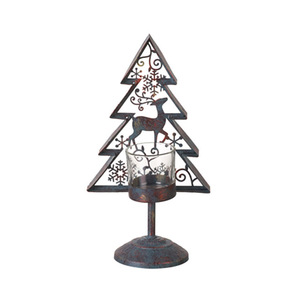 Christmas Tree Candle Holder.Metal Christmas Tree Candle Holder For Wholesales