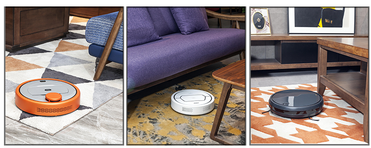 Multiple cleaning mode Automatically recharge Smart APP control Intelligent planned cleaning robotic vacuum cleaner