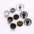 Customize Clothing Accessories 8Mm Jeans Leather Metal Rivet Button With Logo