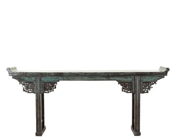 Chinese antique rococo furniture solid wood console table