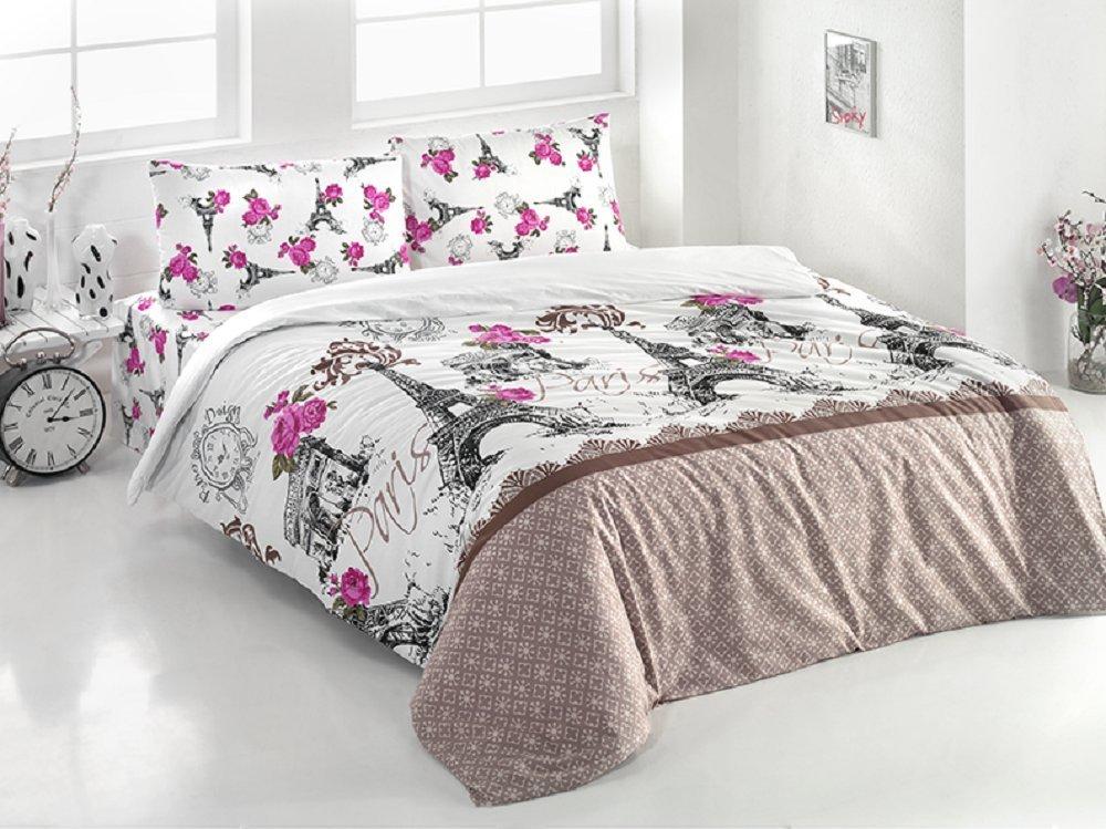 a5468b996c09a2 Brielle Duvet Quilt Cover Set 4 Pcs Double Size Queen Size Bedding Set 100%  Ranforce