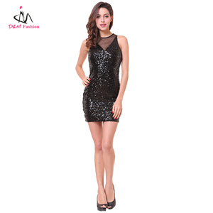 688a051ebf5 China Shiny Black Sexy Dress, China Shiny Black Sexy Dress Manufacturers  and Suppliers on Alibaba.com