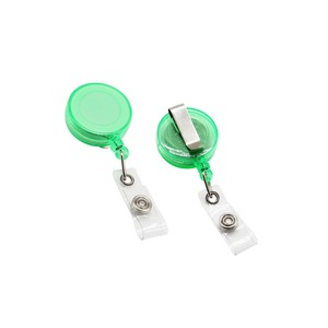 Retractable Badge Holder Carabiner yoyo reel clip Key Reel for ID Card Holders