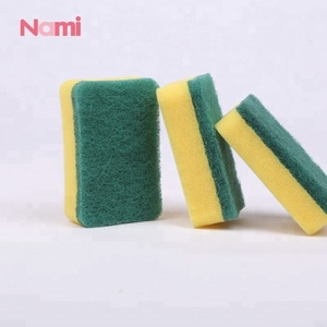 Eco-friendly Soft Sponge Non-abrasive Cleaning Scouring Pad for Kitchen Cleaning