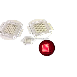 100W 650nm - 660nm - 670nm Red LED array for growing light