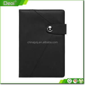 eco friendly china price notebook pu cover recycled paper notebook