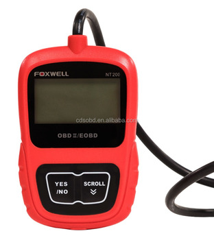 Foxwell Nt200 Obdii Car Multi-system Scanner Diagnostic Scan Tool Code  Reader For All Cars+english German Spanish - Buy Foxwell Nt200,Obdii