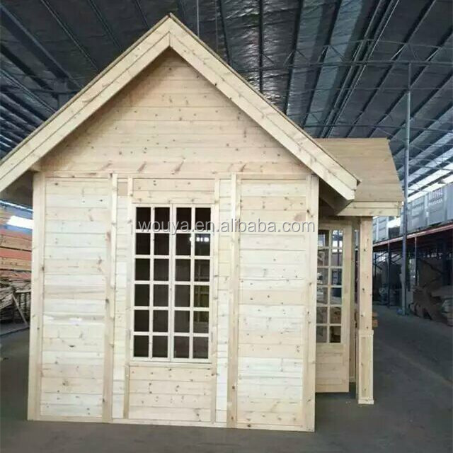 prefab tool house wooden guard house log cabin timber cabins small