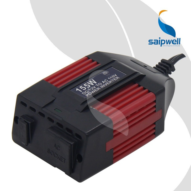 Herstellung Saipwell Neues Produkt Micro Car Power Inverter 75W / 100W / 120W / 155W / 300W