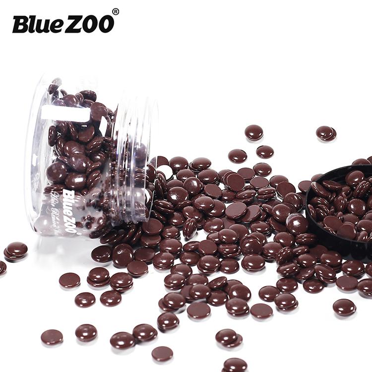 150g/bottle Cera Dura Chicchi di caffè per BlueZOO di Rimozione Dei Capelli Depilatoria a Caldo Pellicola di Cera 14 Colori in Stock