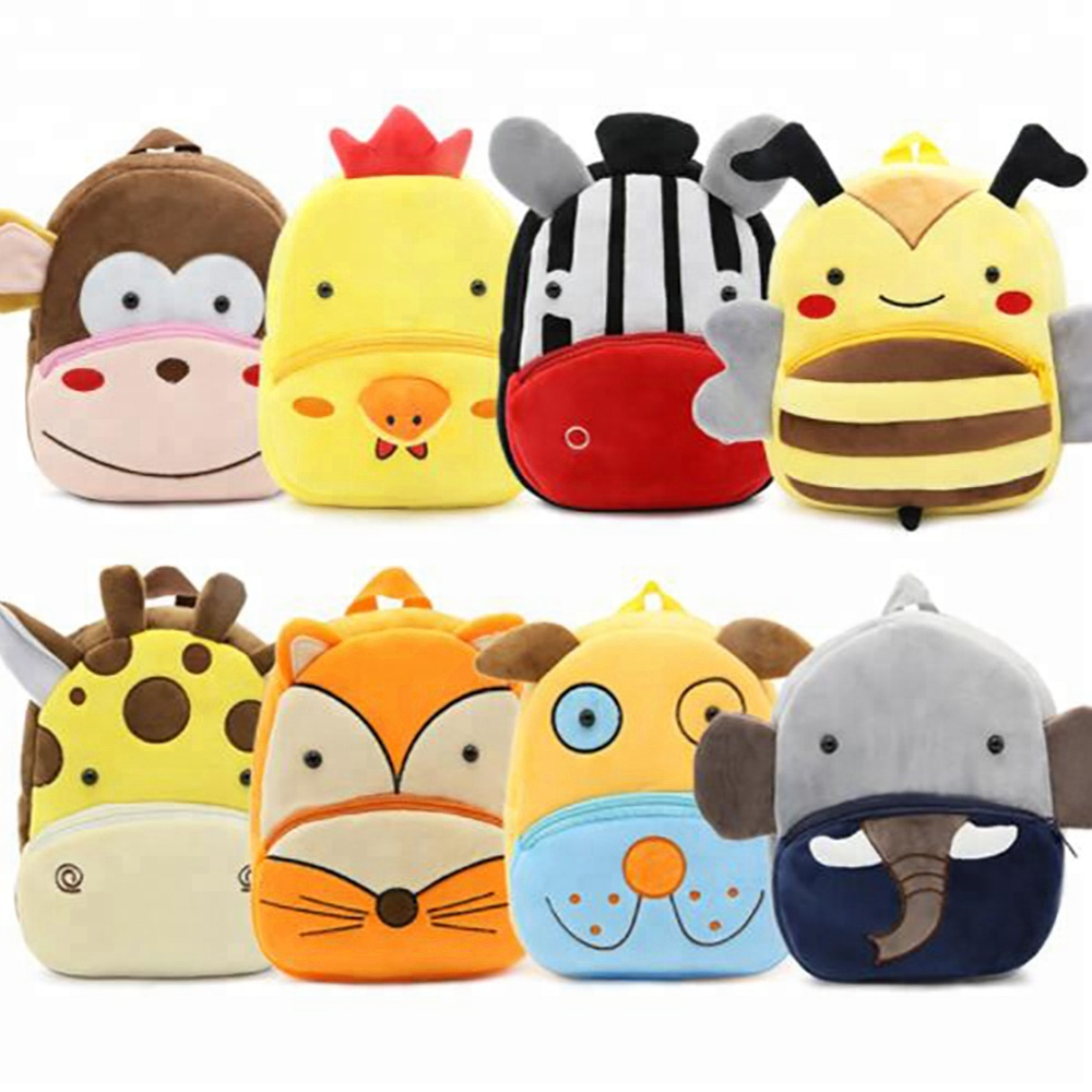 2018 Free Sample New Design Kids School Bag cartoon child bag animal school <strong>backpack</strong> wholesale