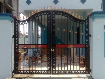 Merveilleux Wrought Iron Main Gate Design Home/Wrought Iron Gates Models / Iron Swing Gate  Designs