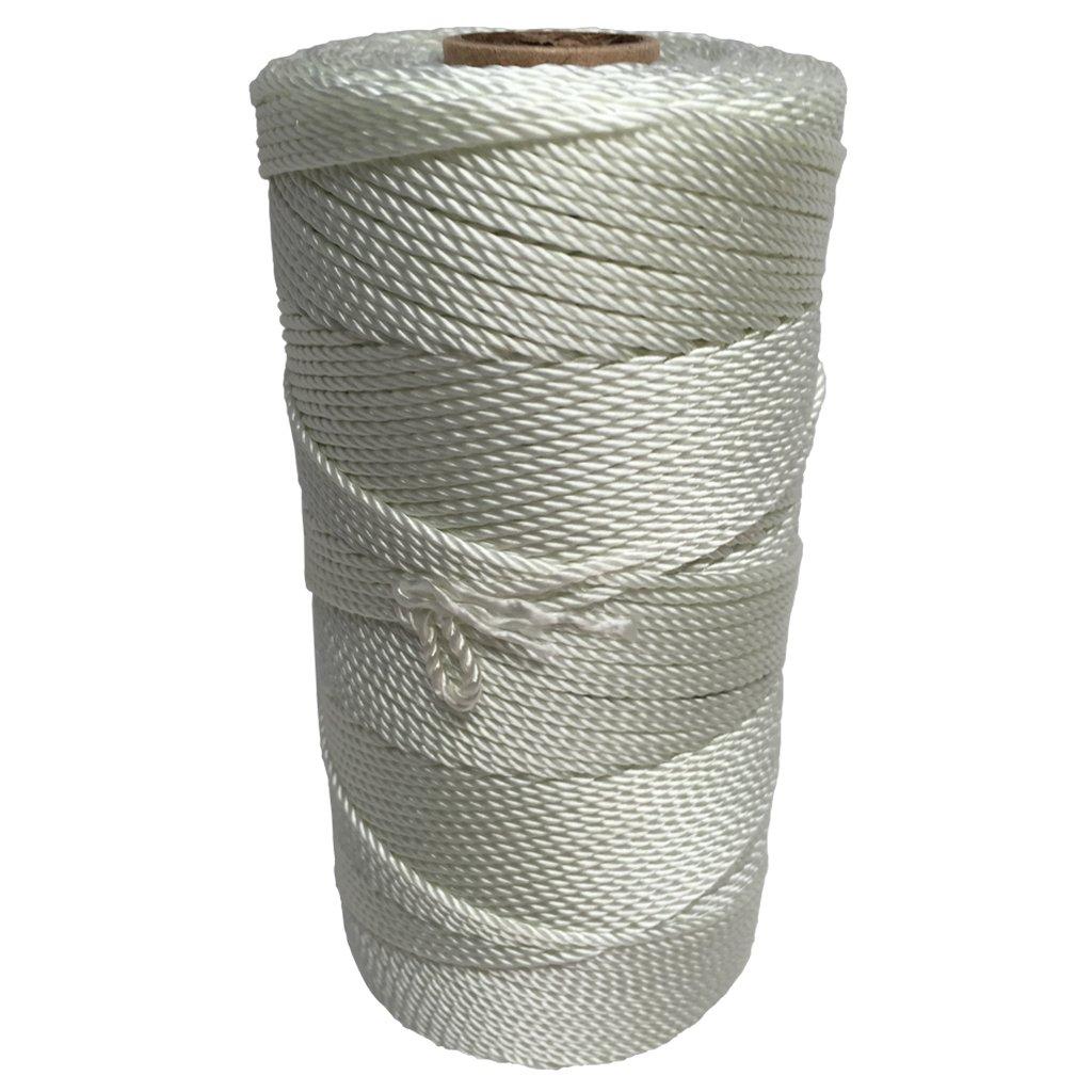 SGT KNOTS Twisted Nylon Seine Twine - #6, #7, #9, #12, #15, #18, #21, #24, #30, #36, #42, #48, #60, #72, #96, #120 (1 Pound - #21 - 915 feet)