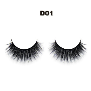 df44eb848cb Best selling product private label Korean synthetic silk false eyelashes  distributor indonesia 3D faux mink lashes