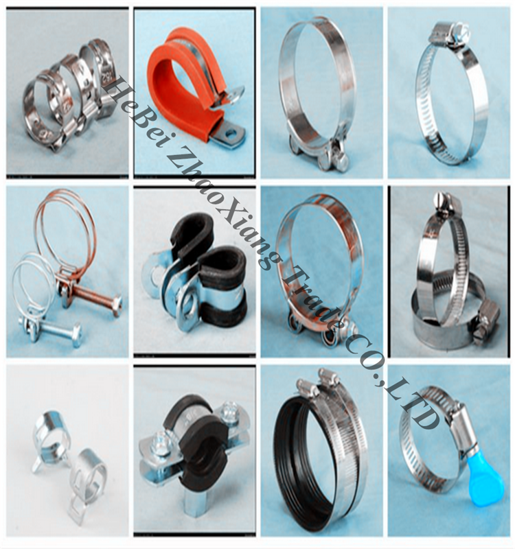 All kinds of types hose clamp with handle buy clips