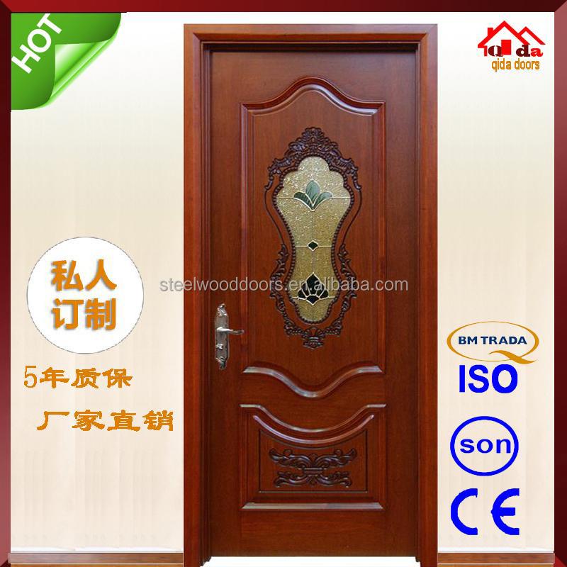 Puertas en madera para interiores modelos de llanura for Modelos de puertas de madera para dormitorios